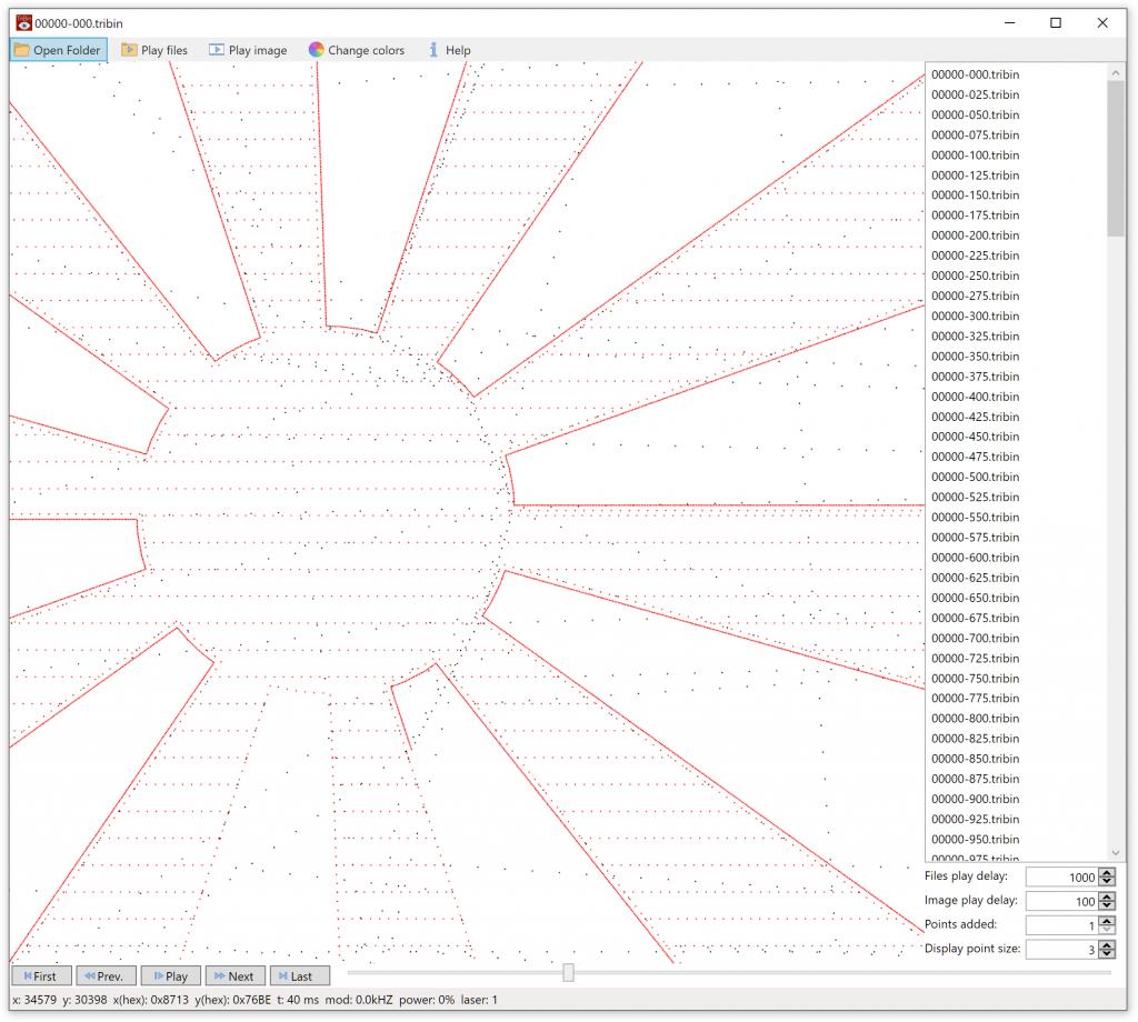 Интерфейс вьювера TriBin Viewer